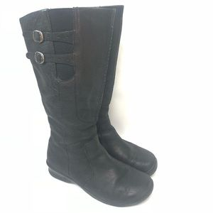 Keen Tall Black Leather Boot Size 8.5